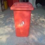 Tempat sampah plastik HDPE